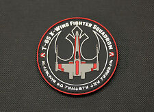 Star Wars X-Wing Red Squadron PVC Patch MoeGuns Rebel Alliance Rogue One Bodhi