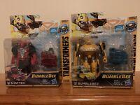 """Transformers Energon Igniters 5"""" Set Of Shatter & Bumblebee Volkswagen Hasbro"""