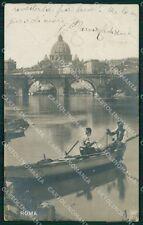 Roma Città Barca Alterocca 1928 Foto cartolina QT1997