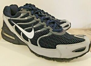 NIKE AIR MAX TORCH 4 NAVY BLUE/GRAY RUNNING TRAINER US MENS SIZE 14