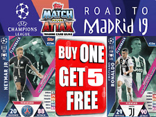 Match Attax ☆ CHAMPIONS LEAGUE EXTRA ☆ ROAD TO MADRID 19  #130-208 ☆