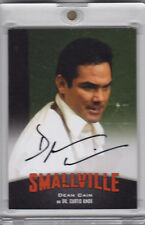 2012 Cryptozoic Smallville DEAN CAIN as DR. CURTIS KNOX Auto Signature A10