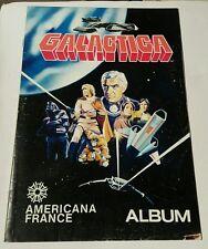 Battlestar galactica sticker album 1978 americana france