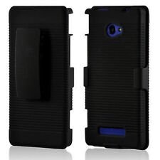 HTC Windows Phone 8X HTC 6990 HTC Zenith Shell Holster Case Cover with