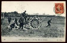 le camp de MAILLY 155 long mise en batterie 1916  ( 38)