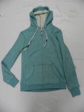Roxy Womens Before Dark Zip Front Hoodie Sweater Mint Green Sz Small New