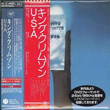 KING CRIMSON-USA 40TH ANNIVERSARY EDTION-JAPAN HQCD DVD AUDIO Ltd/Ed K81