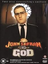 John Safran vs God - DVD ss Region 4 Good Condition (DISCS ONLY)