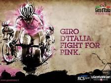 GIRO D'ITALIA 2010 OFFICIAL POSTER  GAZETTA DELLO SPORT