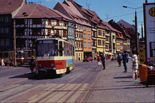542043 Tatra KT4D Articulated Cars Erfurt Eastern Germany A4 Photo Print