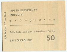 SWEDEN (H156) Scott 628a, 50ore Industrial Skills booklet
