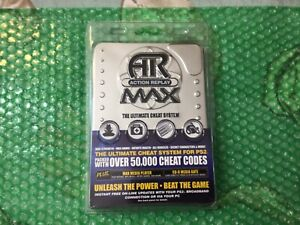 Action Replay Max for the Sony PlayStation 2 - Not For Resale version -Brand New