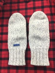 Vintage Ortovox Dachstein Mitts Boiled Wool Gloves Mittens Ski Hunting Sz S/M