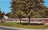 Cloverdale Indiana 1950s Postcard Walker Motel