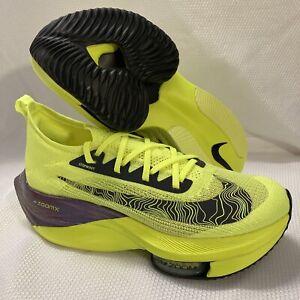 Nike Air Zoom Alphafly Next% Ekiden Zoom Relay Shoes DC5238 Volt Blue Sz 10
