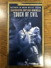 Touch Of Evil Vhs Film Noir Special Edition Charlton Heston Orson Welles