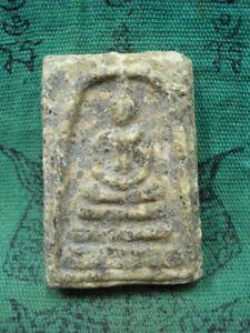 Phra Somdej Toh Kru Wat Rakang Temple Talisman Buddhist Old Thai Buddha Amulet