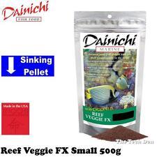 Dainichi Reef Veggie FX Small Sinking Pellet 3mm 500g Fish Food