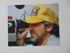"""Jurassic Park"" Steven Spielberg Hand Signed 10X8 Color Photo"