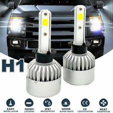 H1 LED Headlight Conversion Kit 72W 16000LM Hi Lo Beam Bulbs White 6000K HID