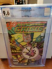 Crisis On Infinite Earths #4 CGC 9.6 Second Appearance Constantine Key Comic