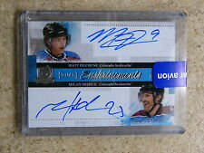 10-11 UD The Cup Dual Enshrinements Auto MATT DUCHENE / MILAN HEJDUK /35