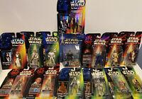 Star Wars Action Figure Lot. 14 Figures Total! Episode I, POTF, More. READ