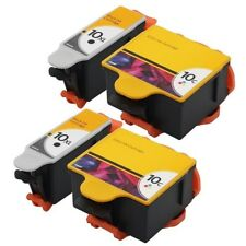 4PK 2Set High-Yield Ink For Kodak 10 XL 10C ESP 3250 5100 5250 5300 5500 3, 5, 7