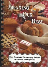 *GRANTVILLE PA 1990 EAST HANOVER ELEMENTARY SCHOOL COOK BOOK *SHARING OUR BEST