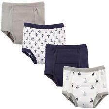 Luvable Friends Boy Toddler Water Resistant Training Pants, 4-Pack, Little Sailo