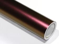 Autofolie Flip Flop / Chameleon Lila wird zu Gold 100cm x 152cm mit Luftkanäle