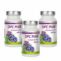 Vita2You OPC Pure Traubenkernextrakt 400mg - Sparpaket 3 x 60 Kapseln