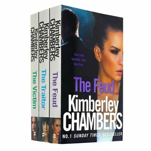 Kimberley Chambers Trilogy Mitchells Collection 3 Books Set NEW