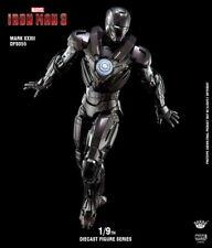 King Artes 1:9th DFS055 Iron Man MK32 Ultimate Metal Figura De Colección Modelo ABS