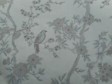 Ralph Lauren Curtain Fabric 'Marlowe Floral' 3.4 METRES Platinum - Linen Blend