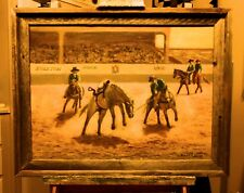 ONE TOUGH BRONCO  original oil painting  by Richard R. Nervig