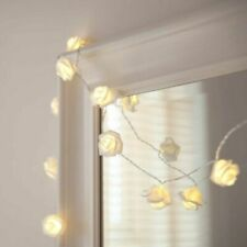 20M Rose Flowers Fairy LED Lights String for Wedding Garden Party Home Decor US