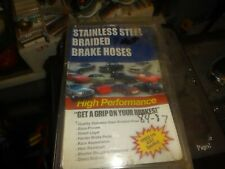 1984-1987 Corvette Stainless Steel Braided Brake Hose Kit NIB SBH-8487