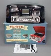 GPO Memphis giradischi-giradischi-CD-Radio - MP3-USB Sistema Music