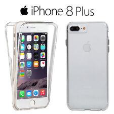 Funda Proteccion 360º Gel TPU Hibrida Transparente para iPhone 8 Plus