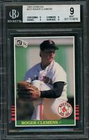 1985 Roger Clemens Donruss #273 RC Rookie BGS 9 (All 9 Subs)