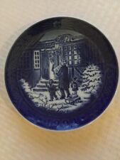 Royal Copenhagen 1994 Christmas plate In Box Never Displayed.