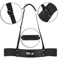 DEFY Heavy Duty Arm Isolator Blaster Gym Body Building Bicep Curl Triceps Black