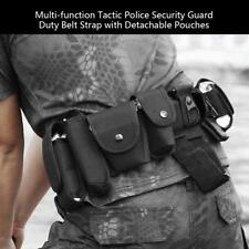 10 in 1  Military Airsoft Security Police Guard Duty Tactic Belt w/9 Pouches ZH