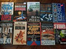 Lot of 28 paperback War Fiction Novels
