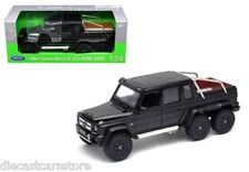 WELLY 2014 MERCEDES BENZ G 63 CLASS AMG 6 x 6 BLACK 1/24 DIECAST CAR  24061W-BK