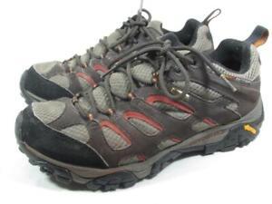 Merrell Moab Gore Tex Hiking Shoe Men size 9.5 M Brown