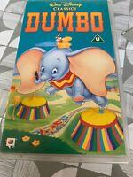 DUMBO WALT DISNEY CLASSICS VHS Used VGC