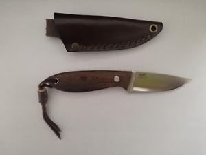 BRISA Bobtail 80 Fixed Blade Knife w/ Belt Sheath I9954