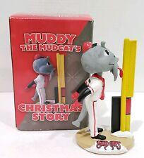 2016 Carolina Mud Cats Muddy the Mudcats Mascot Bobblehead Christmas Story SGA